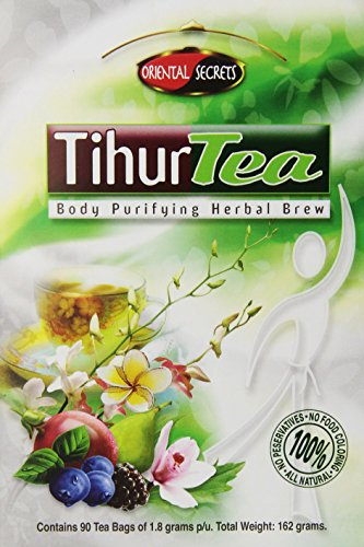 Tihur Tea - Body Purifying Herbal Brew 90 Tea Bagsof 1.8 Grams p/u. Total Weight: 162 grams by Clotho Corp (English Manual) 1.8 Manual