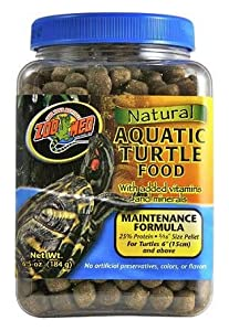 Zoo Med Natural Aquatic Turtle Food Maintenance Formula 680g by Zoo Med