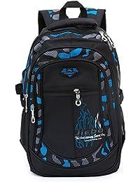 Tissu Oxford-sacs à bandoulière cartables des élèves en nylon imperméable,Sacs de voyage une grande capacité