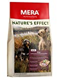 MERA NATURE´S EFFECT Mini, Getreidefreies Hundefutter, Premium Trockenfutter für kleine Hunde mit Ente, Rosmarin, Karotten und Kartoffeln