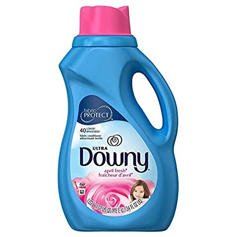 Downy Fabric Softener, Ultra Concentrated, April Fresh, 40 loads, 34 fl oz by Downy