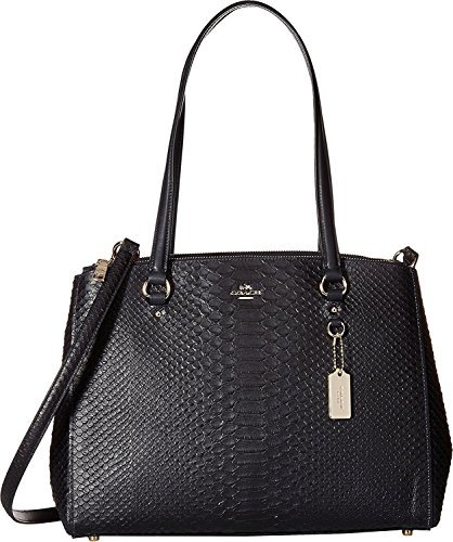 Coach Womens Stamped Snakeskin Stanton Carryall - Coach Womens Hobo