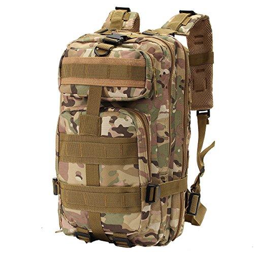 OUTERDO Militärischer Outdoor Taktischer Rucksack Camping Wandern Trekking Rucksack CP