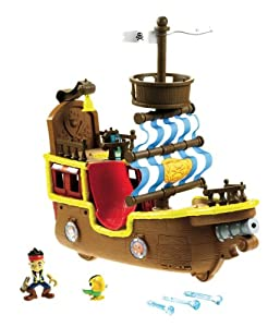Disney X8484 - Bucky Barco Pirata Musical (Mattel) de Mattel