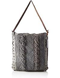 Taschendieb Td0036g, Bolsos mochila Mujer, Grau, 3.5x37x37 cm (B x H T)