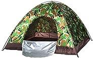 Waterproof windproof ultraviolet-proof outdoor travel camping 3-4people camouflage multifunction rainning proo
