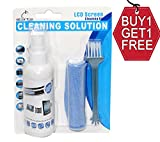Storite Screen Cleaner Kit - Best for LED & LCD TV, Computer Monitor, Laptop, and Other Screens (Buy 1 get 1 Free 100 ml + 100 ml)