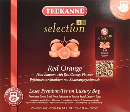 Teekanne Selection 1882 im Luxury Bag - Red Orange - fruchtig-spritzig, 20 Portionen, 1er Pack (1 x 110 g)