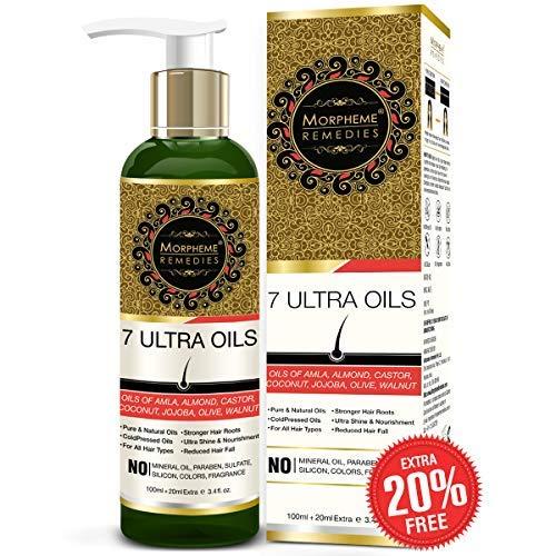 Morpheme 7 Ultra Hair Oil - 100 ml