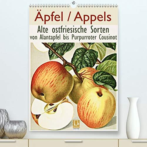 Calvendo Premium Kalender Äpfel/Appels. Alte ostfriesische Sorten: Von Alantapfel bis Purpurroter Cousinot (hochwertiger DIN A2 Wandkalender 2020, Kunstdruck in Hochglanz)