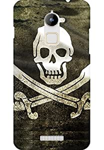 AMEZ designer printed 3d premium high quality back case cover for Coolpad Note 3 Lite (Pirate Flag)