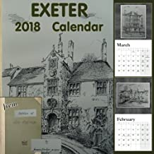 Exeter 2018 Calendar: from Sketches of Old Exeter by James Crocker