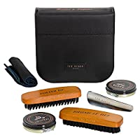 Ted Baker Ted Baker Shoe Shine Kit Shoe Care Kits, Black (Black), One Size