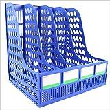 Fournitures De Bureau Rack De Stockage De Fichiers De Bureau A4 Quad Dossier en Plastique, Boîte De Fichiers Barre De Fichiers Information Frame
