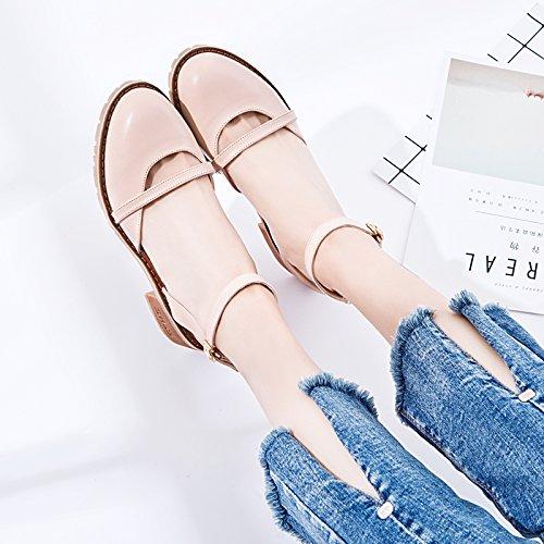 Zyushiz Das Sommer Abzug Erste Flachem Sandalen Koreanische Hausschuhe Rosa Boden Version Mit Feld Studentinnen nbsp; zqUArz