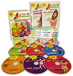 My Talking Toddler Early Communication Development System 9 Disc DVD & CD Set - Beginning Speech Volume 1 by My Talking Toddler