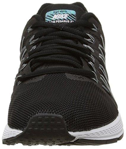 Nike Damen Wmns Air Zoom Pegasus 32 Flash Laufschuhe Black (Blck / SLVR-Pr Rflct Pltnm-Cl Gr)