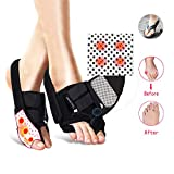 Bunion Corrector,Auwod Bunion Splint Protector Toe Straighteners with Adjustable Velcro for Bunions Support