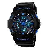 Acquista SunJas Sportivo orologio da polso multifunzione blu