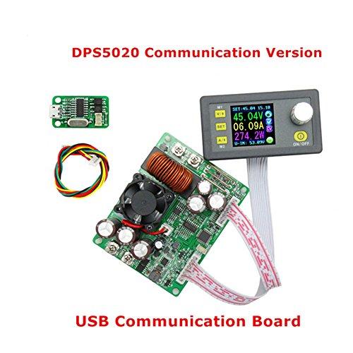 Rokoo RD DPS5020 Konstante Spannung Stromkommunikation Digitales Netzteil Buck Spannungswandler LCD Voltmeter 50V 20A