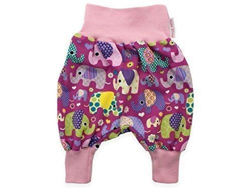 Unbekannt bebé Pantalones Bombachos Fiesta de Elefantes Lila Pantalones Jersey Pantalones Bombacho...
