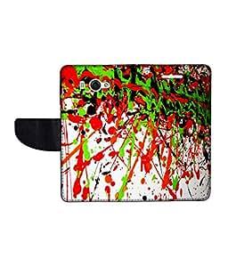 KolorEdge Printed Flip Cover For Redmi Xiaomi MI 2S Multicolor - (45KeMLogo10492XiaomiMi2S)