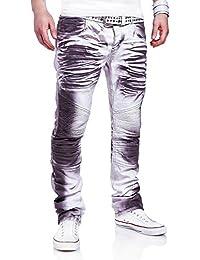 MT Styles Style-Biker Jeans pantalon homme RJ-3173