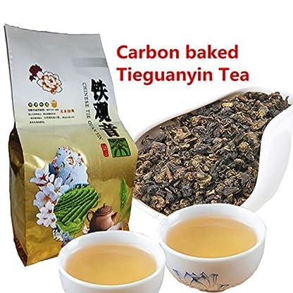Qualitts-chinesischer-Tieguanyin-Tee-50g-011LB-Frischer-natrlicher-Kohlenstoff-Specaily-TiKuanYin-Oolong-Tee-Hoher-kosteneffektiver-Tee-Gewicht-verlorener-Tee-Lebensmittel-abnimmt