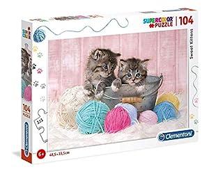 Clementoni Supercolor puzzle-cucciolo-104Unidades, Multicolor, 27115