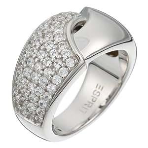 Esprit Damen-Ring Lustre Sterling-Silber 925 Gr. 50 (15.9) ESRG-91466.A.16