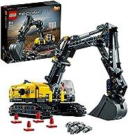 LEGO 42121 Technic Hydraulikbagger Bauset, 2-in-1 Modell, Baufahrzeug, Bagger Spielzeug ab 8 Jahren, Konstrukt