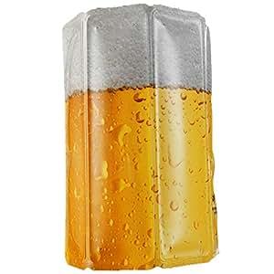 """Vacu Vin - 38549606 Aktiv Kühler Motiv Bier """"Lager"""" 0,3-0,5l"""