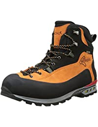 Boreal Brenta - Zapatos de montaña unisex, color naranja y negro, talla 7