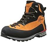 Boreal Brenta - Zapatos de montaña unisex, color naranja y negro, talla 7.5