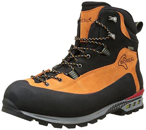 Boreal Brenta - Zapatos de montaña unisex, color naranja y negro, tal