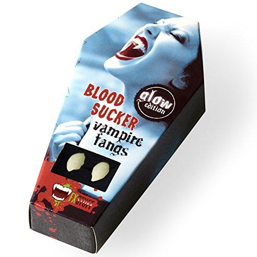 FXSTUFF Vampirzähne leuchtend