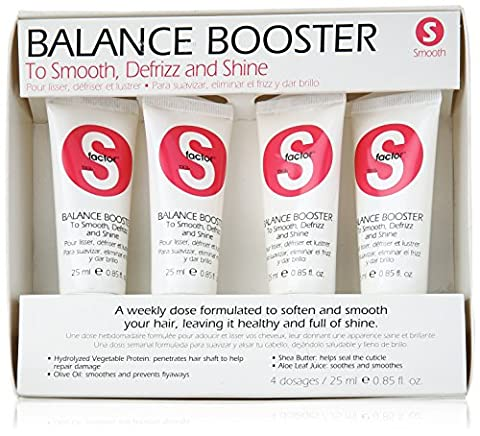 Speciality by TIGI S-Factor Smoothing Balance Boosters 4 x 25ml
