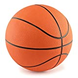 "Yancorp Kids Toddlers Basketball 7"" with High Quality Basketball Pump Football Pump with 2 Needles and Ball Net"