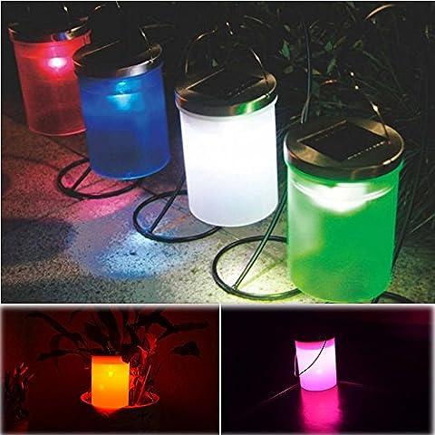 imprägnieren Solar drehbare im Freien Garten-kampierende hängende LED runde Kugel Lichter wasserdichte Show Schwimmbad Hot Tub Spa Lampe (F)