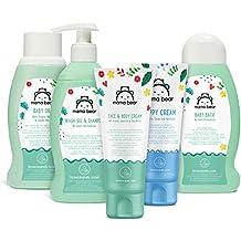 Amazon Brand - Mama Bear Mixed Bundle:  Baby Bath, Shampoo, Nappy Cream, Oil, Face & Body Cream