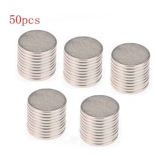 Big Bargain 50x10mm x 1mm Disc Rare Earth Neodym Super starke Magnet N35 Craft Models