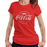 Coca-Cola Retro Logo White Text Women's T-Shirt