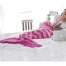 Candora colore colorful coda da sirena divano coperta, l' aria