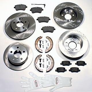 Autoparts-Online Set 60005499 Bremsscheiben/Bremsen + Bremsbeläge Vorne + Hinten