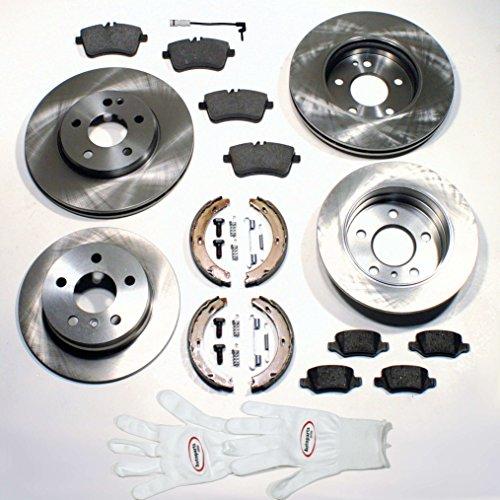 Preisvergleich Produktbild Autoparts-Online Set 60002396 Bremsen Set Vorne + Hinten