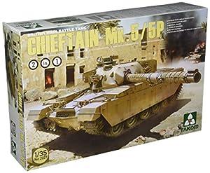 TAKOM tak/-Tanque de Batalla Principal de Modelo Kit británico Chieftain MK. 5/P