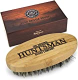 Beard Brush   Perfect For Beard Balms and Oils   Natural, Soft Boar Hair   For Help Softening And Conditioning Itchy Beards   Packaged in Premium Giftbox