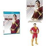 Shazam! Blu-Ray + DC Shazam Personaggio del Film, 30 cm