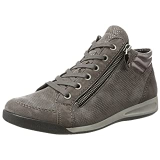 ARA Women's ROM-STF 12-44410 High Sneakers Grey Size: 8.5 UK