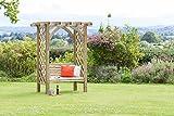 zest4leisure Meridian Pergola Sitz, Holz, 1,3x 1,8x 2,2cm